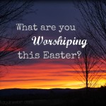 What are You Worshiping this Easter?