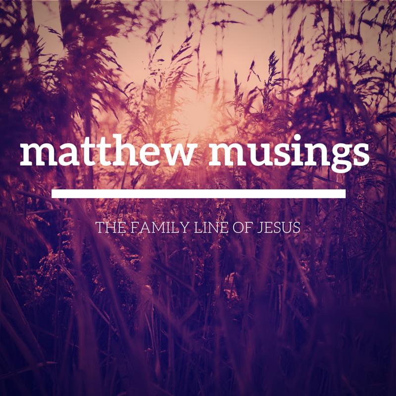 matthew musings