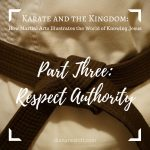 Karate and the Kingdom Part 3: Respect Authority